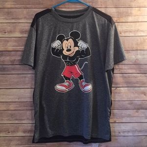 Disney Mickey Mouse Muscles Shirt L